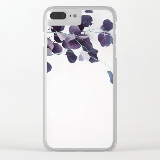 botanical Vibes IV Clear iPhone Case