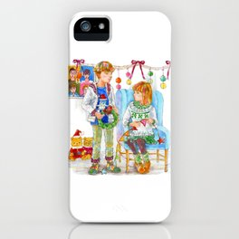 Pop Kids at Christmas Time vol.2 iPhone Case