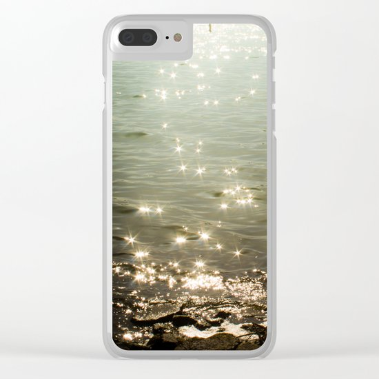 Solitary moment Clear iPhone Case