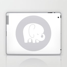 Mod Baby Elephant Grey Laptop & iPad Skin