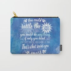 Throne of Glass by Sarah J. Maas Book Quote - Rattle The Stars Carry-All Pouch