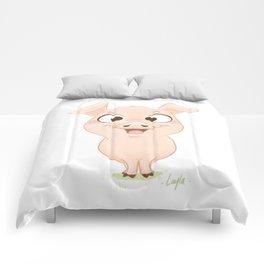 Cochon content Comforters
