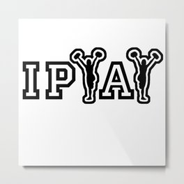 IPYAY cheer for craft beer Metal Print