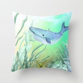 Underwater World **5 Throw Pillow