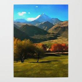 Kazbek Poster