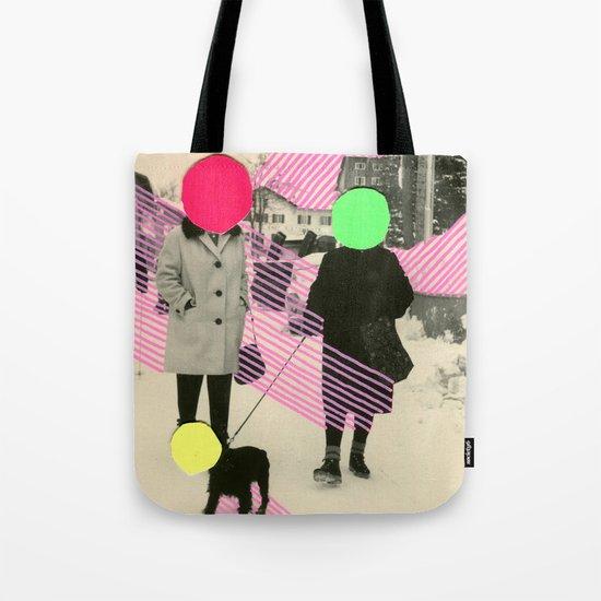 Fluo Conversations Tote Bag