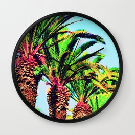 palmiers (Morocco) Wall Clock