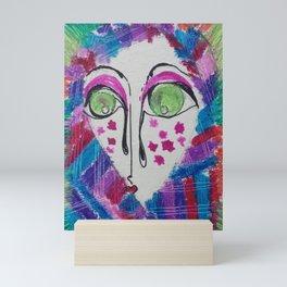 Your face Mini Art Print