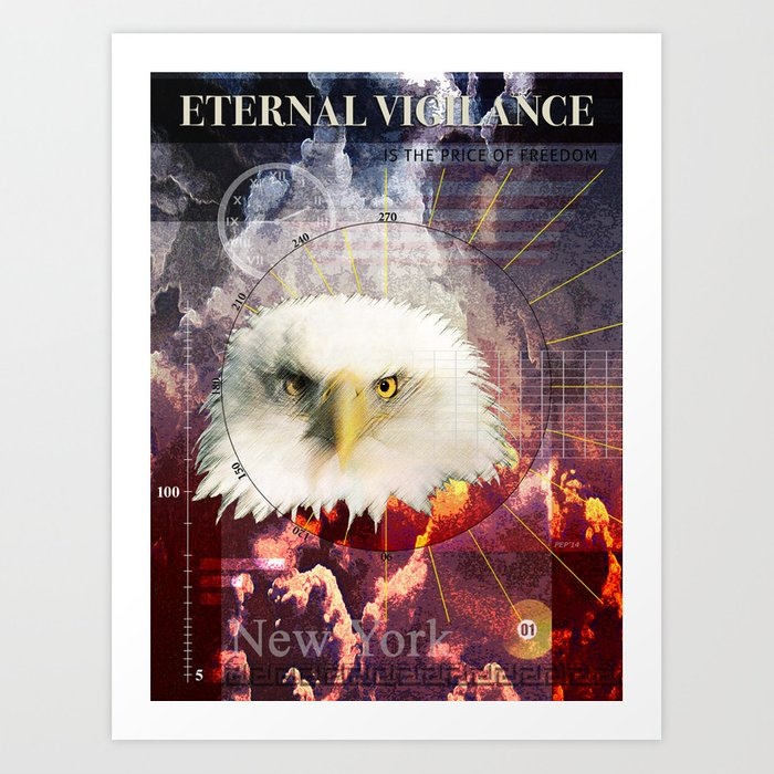 Eternal Vigilance Art Print