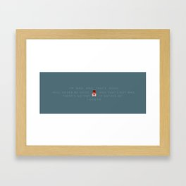 Wreck It Ralph | I'm Bad, and That's Good Framed Art Print