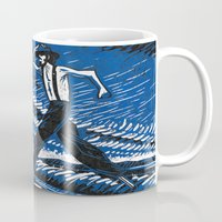 camel Mugs featuring Camel by Benedict Mayer