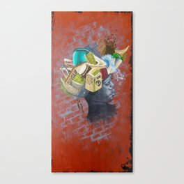 African Girl The Second Canvas Print