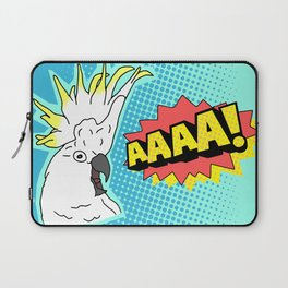 Cockatoo Comic AAAAAA Laptop Sleeve