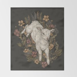 Lamb Throw Blanket