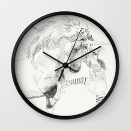 A Bigger World #2 Wall Clock