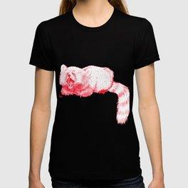 Red Panda Yawning T-shirt
