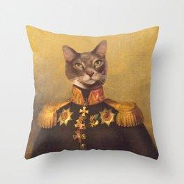 General Bity Bits Portrait Throw Pillow