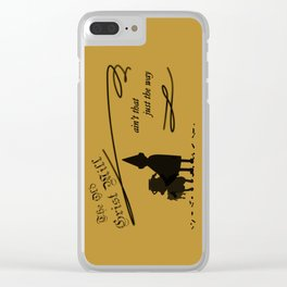 The Old Grist Mill Clear iPhone Case