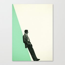 Cool As A Cucumber Canvas Print