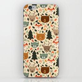 Woodland Creatures iPhone Skin