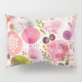 Pink Bubble for a Happy Spring Pillow Sham