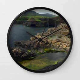 Gásadalur II Wall Clock