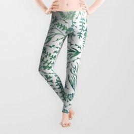 GREEN HERBS Leggings