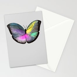 Space Butterfly Stationery Cards