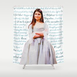 Let Me Be a Part of the Narrative Shower Curtain