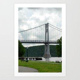 Mid Hudson Art Print