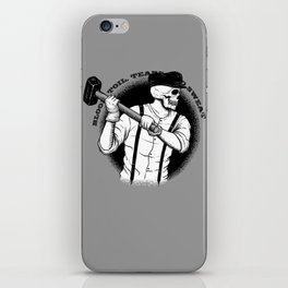 Blood, Toil, Tears, and Sweat iPhone Skin