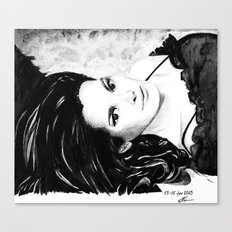 Chocolate lady Canvas Print