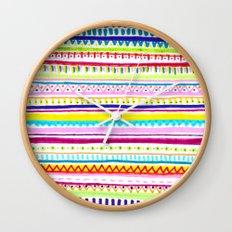 Summer Anxiety Wall Clock
