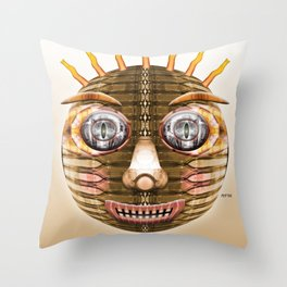 Bottlehead #5 Throw Pillow