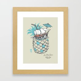 a Tropical Voyage Framed Art Print