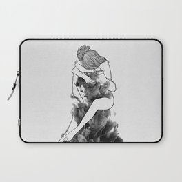 I find peace in your hug. Laptop Sleeve