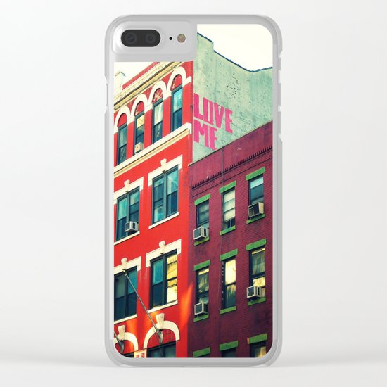 New York City Love Clear iPhone Case