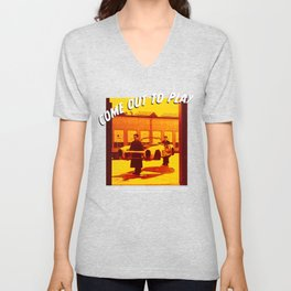 Come out to play Unisex V-Neck