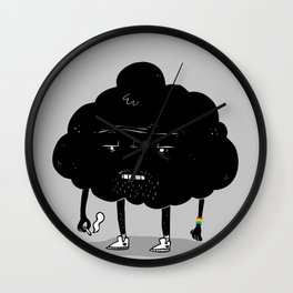 Mr. Optimistic Wall Clock