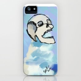 Death in the Ice Caps iPhone Case