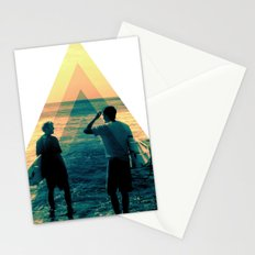 Shape of the ocean Stationery Cards