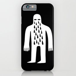 Crying Man iPhone Case