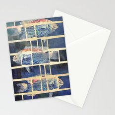 Fish Under Strong Radiation 5 Stationery Cards