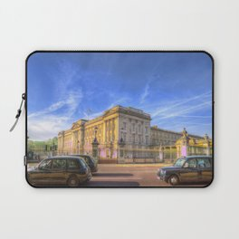 Buckingham Palace And london Taxis Laptop Sleeve