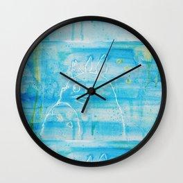 Studio Ghibli fanart Wall Clock