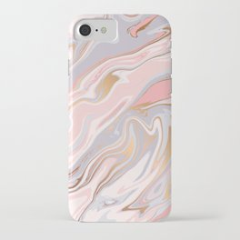 Marble and Gold 005 iPhone Case