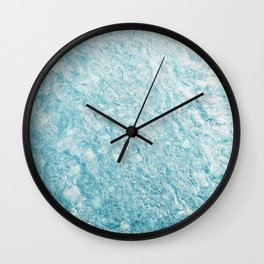 Crystal Water Marble Wall Clock