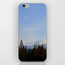 Blue Skies - Zakopane iPhone Skin