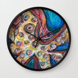 Squid Kid Wall Clock