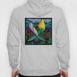 Blooming Flowers (Square Format) Hoody
